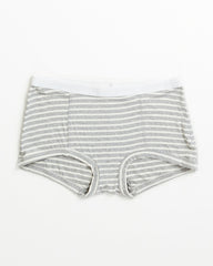 Peony Short - Heather Grey Stripe
