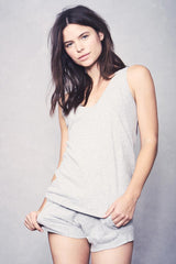Petty Tank - Light Heather Grey