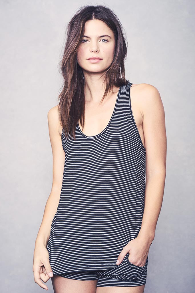 Petty Tank - Black Stripe