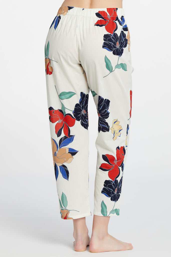 Positano Bottoms - Ivory Floral