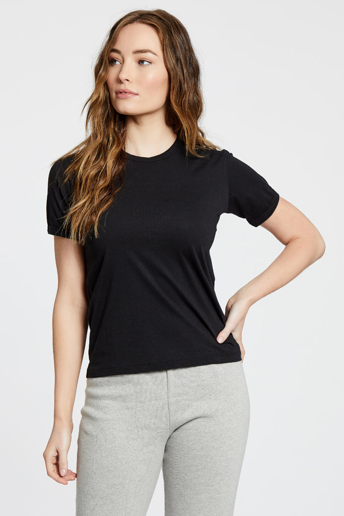 Ringer Top - Black