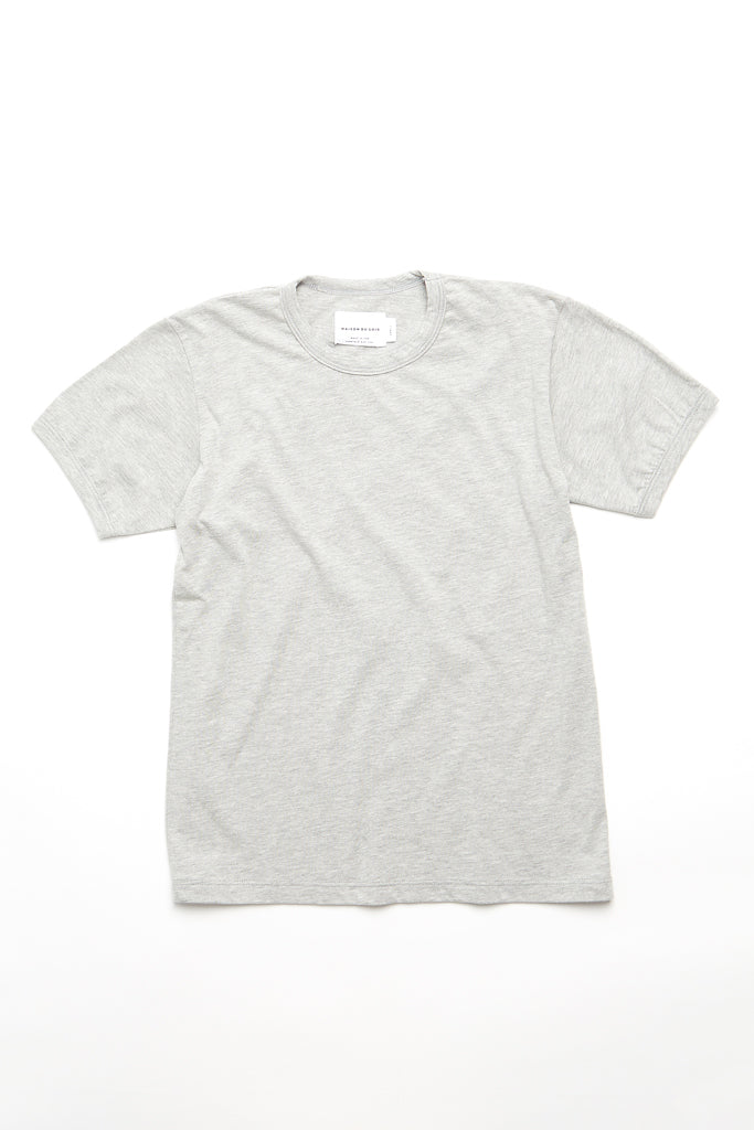 Ringer Top - Heather Grey
