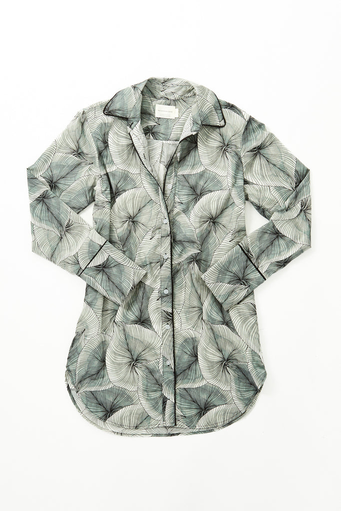 Sam Shirt - Leaf Print