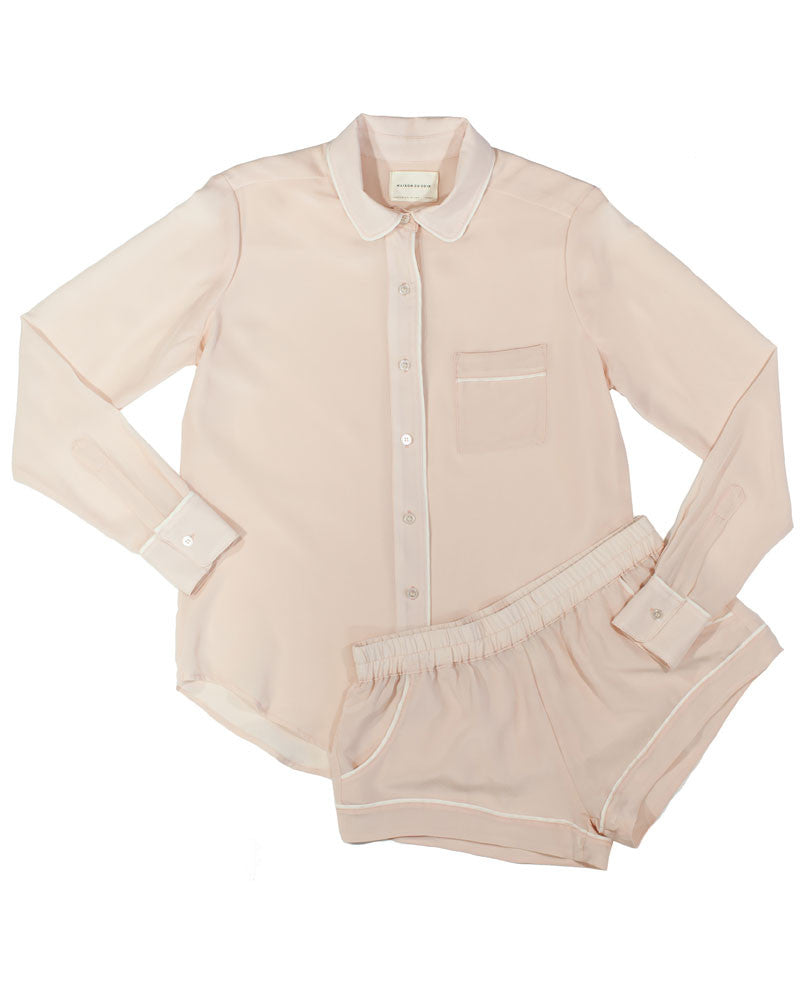 Sophia Blouse - Blush