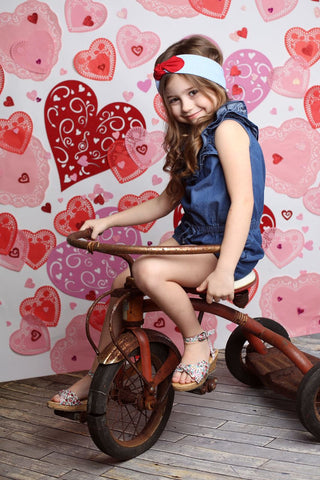 I Heart You Photo Backdrop