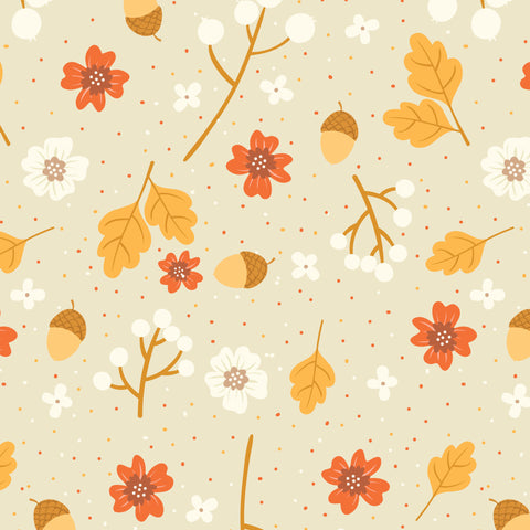 Acorn Photo Backdrop