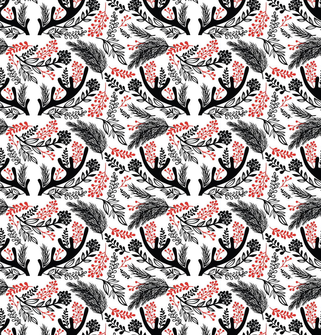 Antler Berries Photo Background