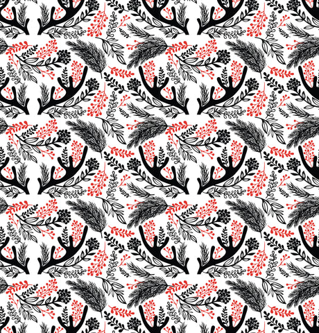 Antler Berries Photo Backdrop