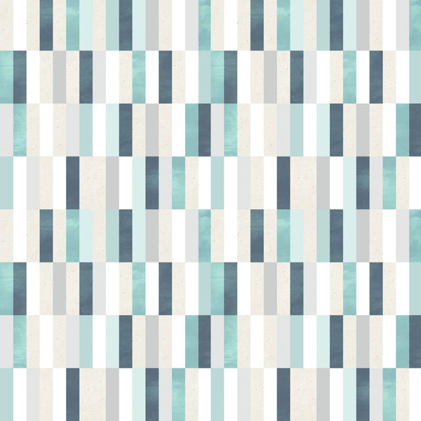 Aqua Tiles Photo Backdrop