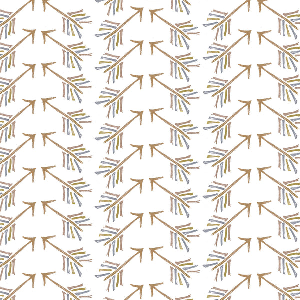 Gold Arrowed Photo Backdrop
