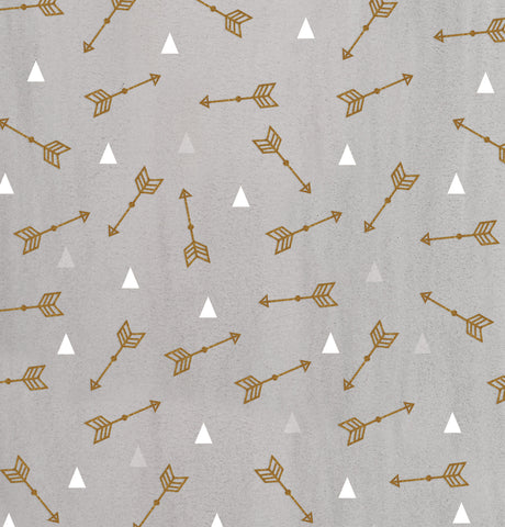 Arrows and Triangles Photo Backdrop