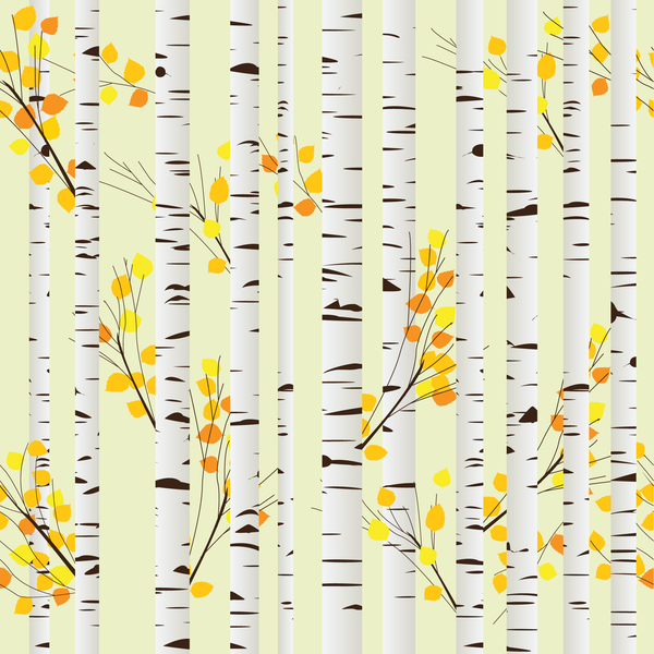 Autumn Aspens Photo Background