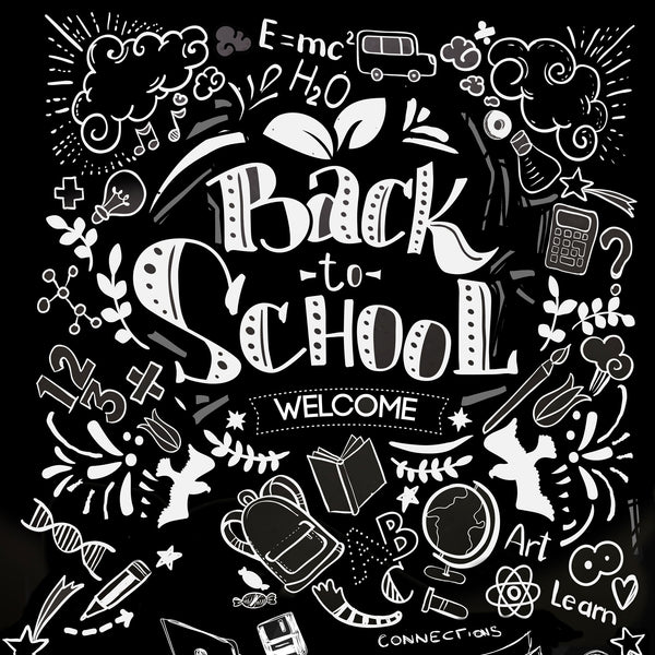 Back to Chalkboards Photo Background