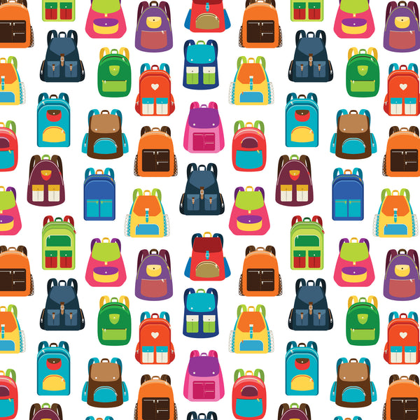 Backpacks Photo Backdrop