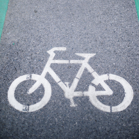 Bike Lane Photo Backdrop