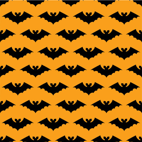 Black Bats Photo Backdrop