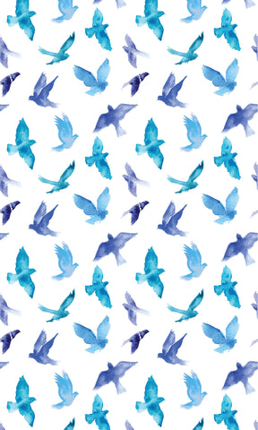 Blue Bird Photo Backdrop