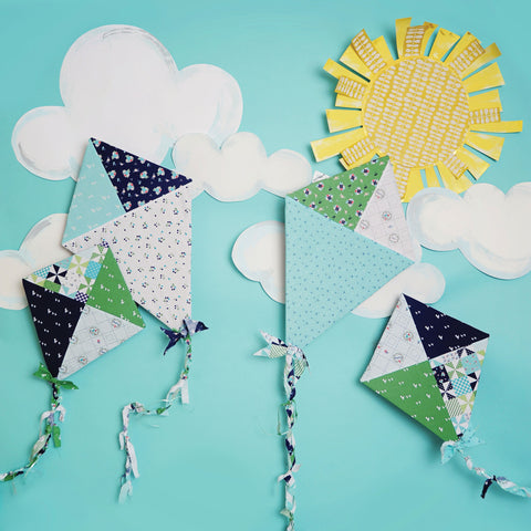 Kites Photo Backdrop
