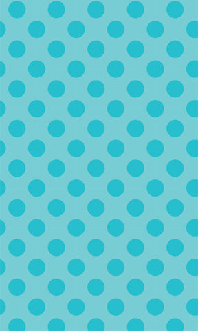 Blue Polka Dots Photo Backdrop