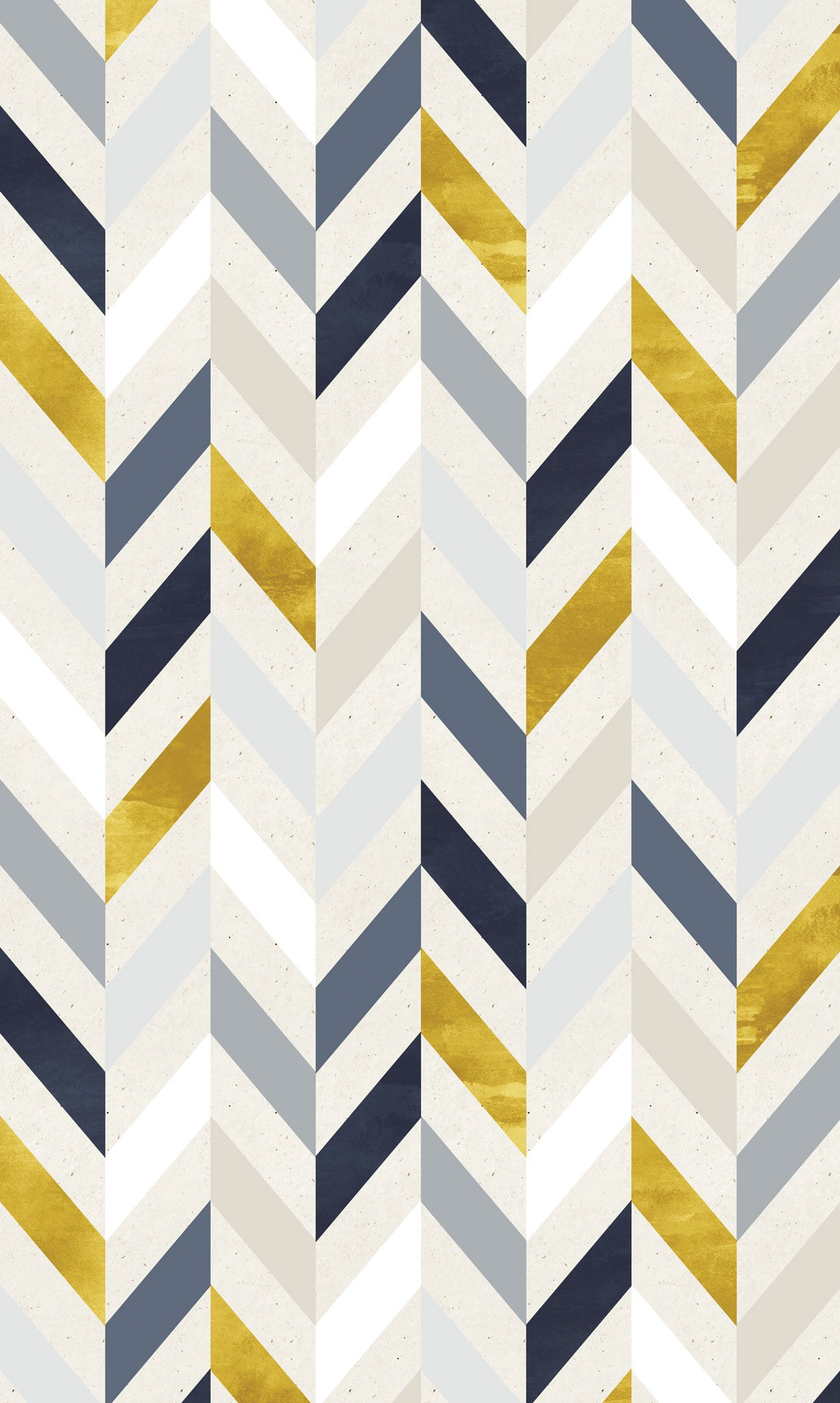 Blue & Gold Herringbone Photo Background