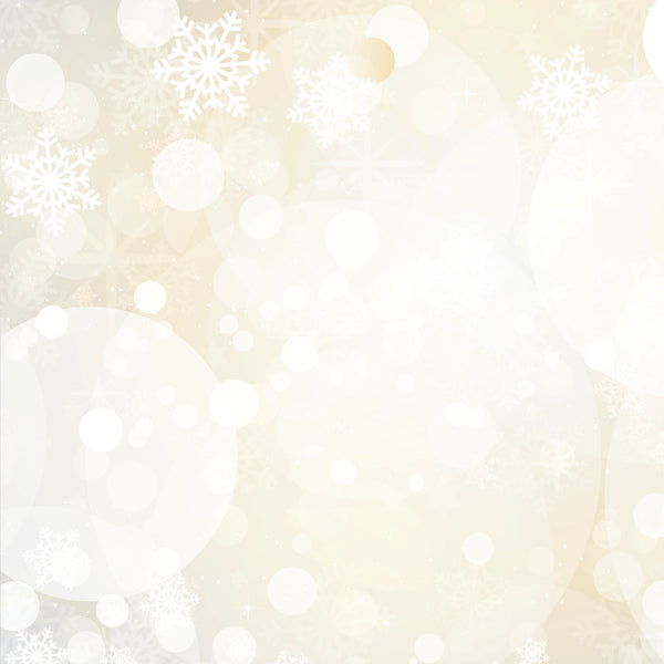 White Bokeh Photo Backdrop
