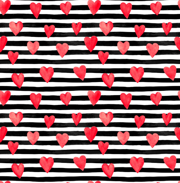 Bold Hearts & Stripes