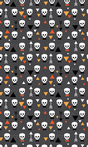 Bow Tie Skull Photo Backdrop