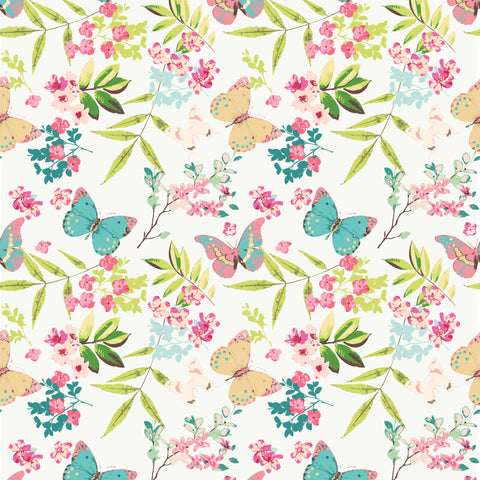 Butterfly Garden Photo Backdrop