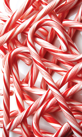 Candy Cane Photo Backdrop