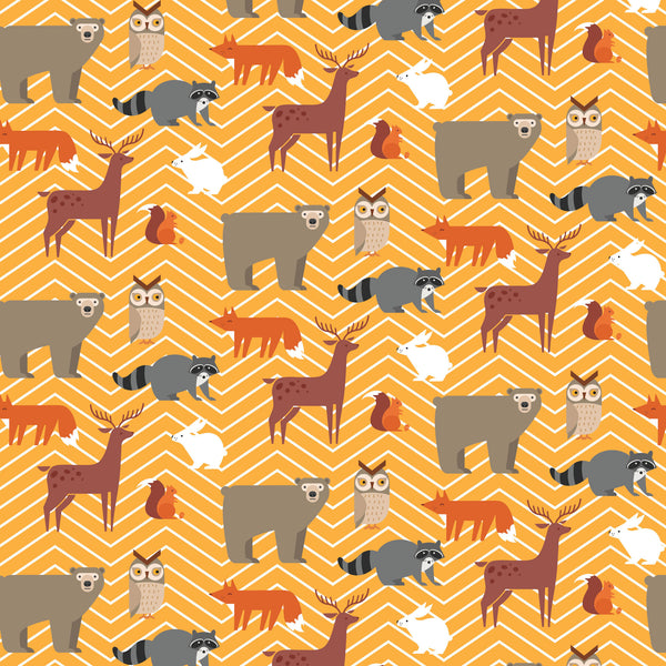Chevron Critters Photo Backdrop