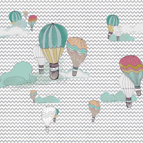 Hot Air Balloons Photo Background