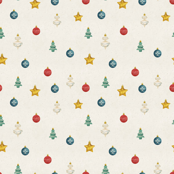 Colorful Ornaments Photo Backdrop