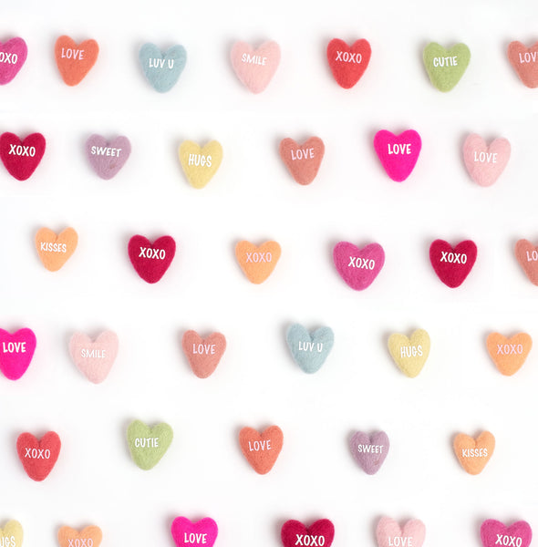 Convo Hearts Photo Background