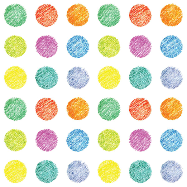 Crayon Polka Dot Photo Backdrop
