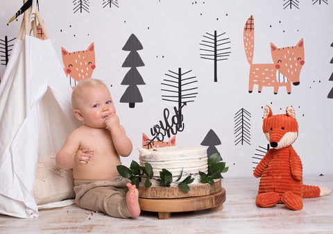 Foxy Photo Backdrop