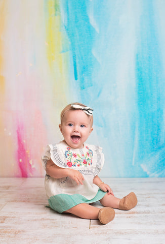 Brush Strokes Photo Backdrop