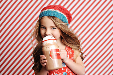 Candy Cane Stripe Photo Backdrop