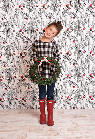 Holly Holly Holly Photo Backdrop