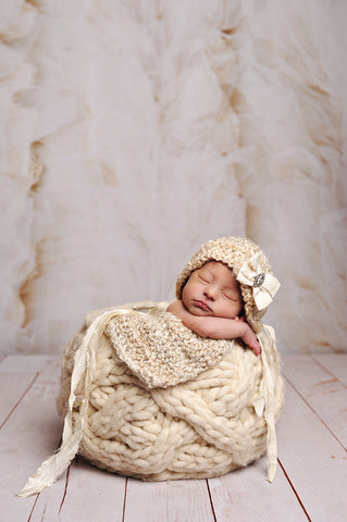 Burlap & Tulle Photo Backdrop