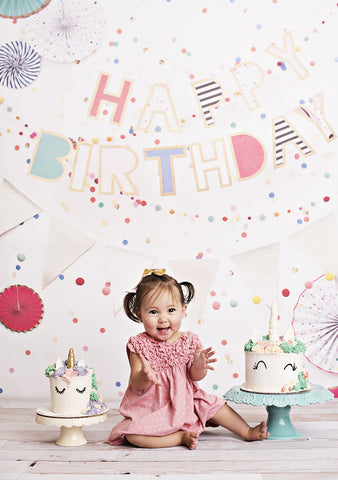 Birthday Banners Photo Backdrop