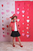 Hanging Hearts Photo Backdrop