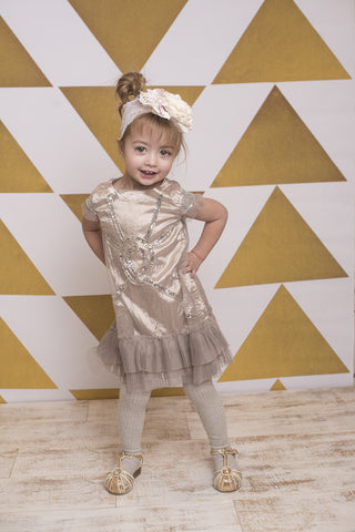 Big Gold Triangles Photo Backdrop