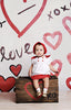 Painted Hearts Photo Backdrop
