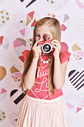 Love To Pieces Photo Backdrop