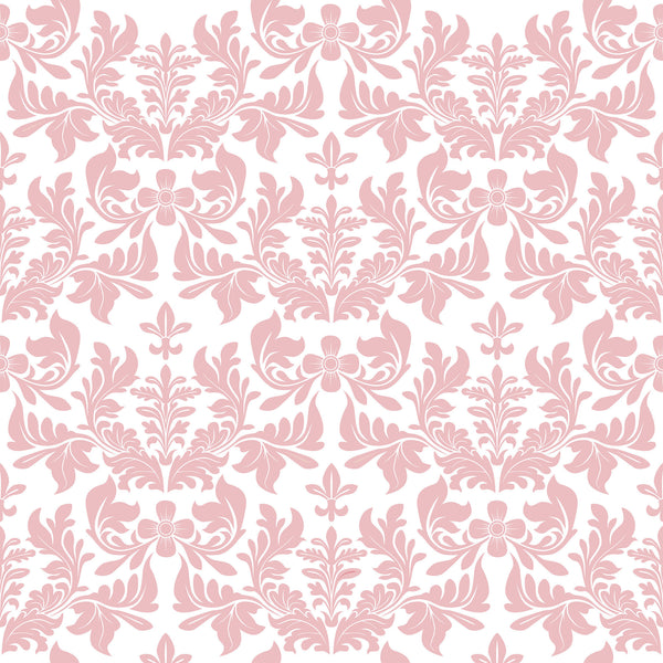 Pink Damask Photo Background
