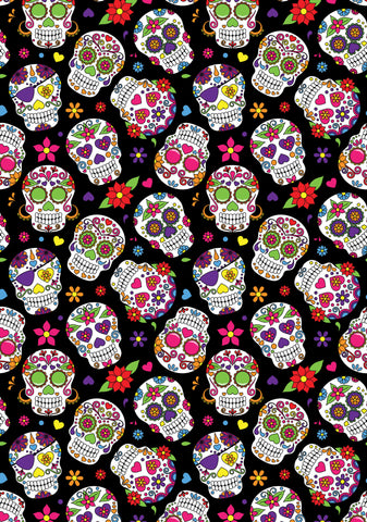 Day Of The Dead Photo Backdrop