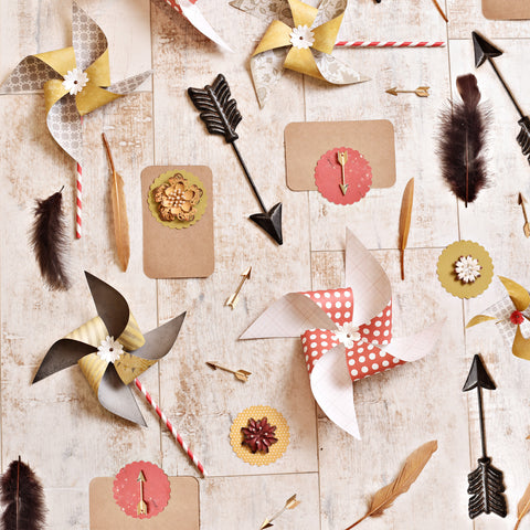 Fall Arrows Photo Backdrop