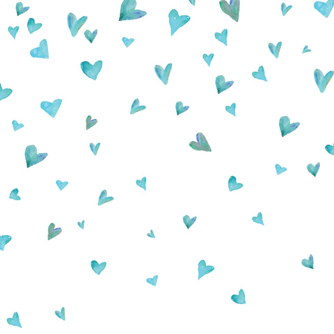 Falling Hearts Photo Backdrop