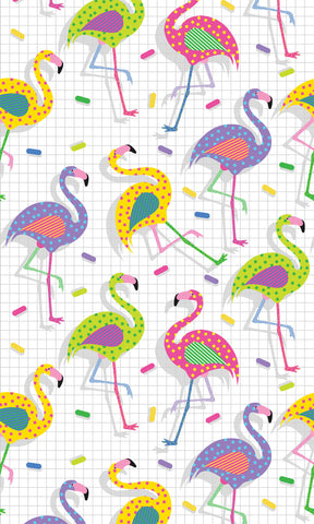Flamingo Party Photo Backdrop