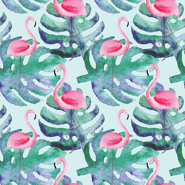 Flamingo Photo Backdrop